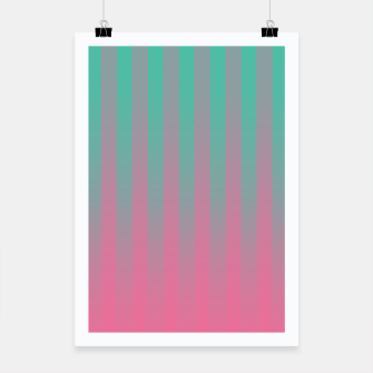 Thumbnail image of Gradient Stripes Pattern ctp Poster, Live Heroes