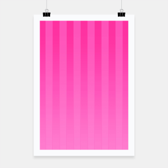 Thumbnail image of Gradient Stripes Pattern imag Poster, Live Heroes