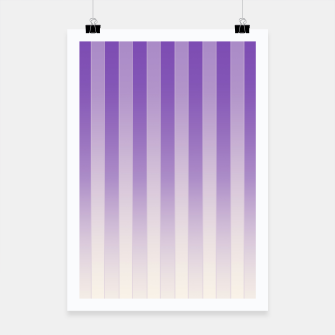 Thumbnail image of Gradient Stripes Pattern pl Poster, Live Heroes