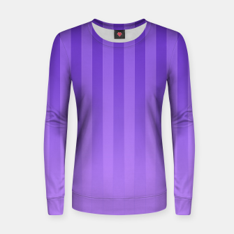 Thumbnail image of Gradient Stripes Pattern ip Women sweater, Live Heroes