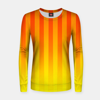 Thumbnail image of Gradient Stripes Pattern ry Women sweater, Live Heroes