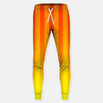 Thumbnail image of Gradient Stripes Pattern ry Sweatpants, Live Heroes