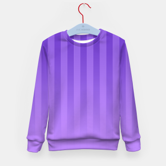 Gradient Stripes Pattern ip Kid's sweater thumbnail image