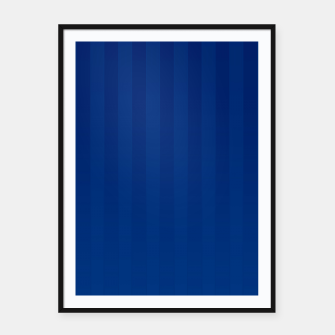 Gradient Stripes Pattern db Framed poster thumbnail image