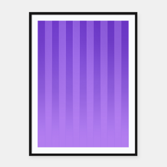 Gradient Stripes Pattern ip Framed poster thumbnail image