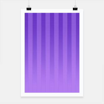 Thumbnail image of Gradient Stripes Pattern ip Poster, Live Heroes