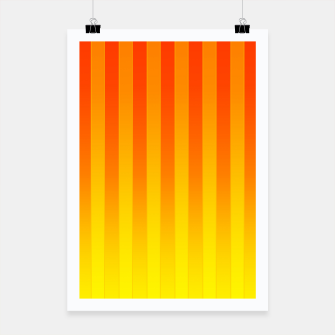 Thumbnail image of Gradient Stripes Pattern ry Poster, Live Heroes