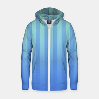 Gradient Stripes Pattern tb Zip up hoodie thumbnail image