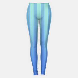 Gradient Stripes Pattern tb Leggings thumbnail image