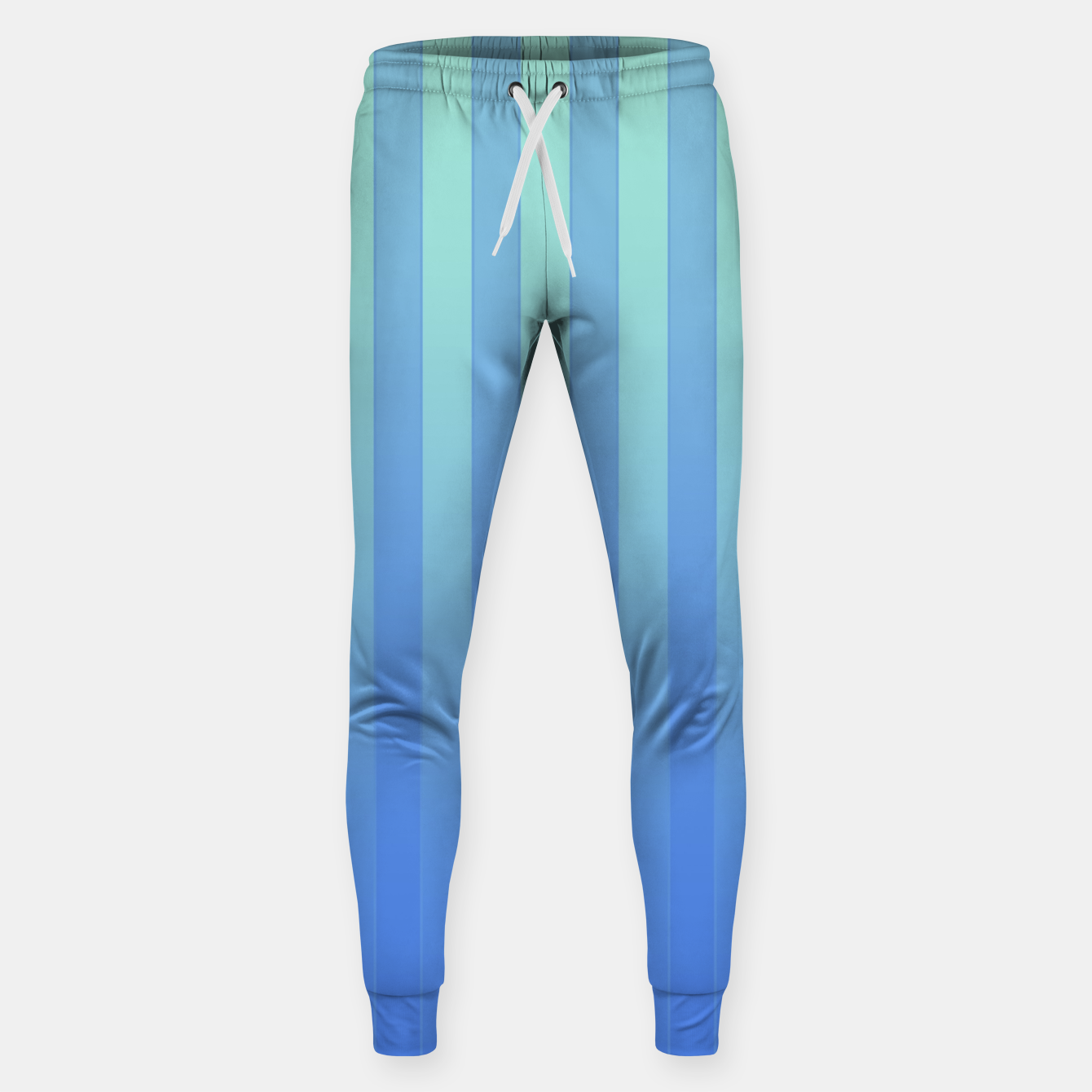 Image of Gradient Stripes Pattern tb Sweatpants - Live Heroes