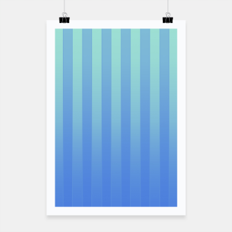 Thumbnail image of Gradient Stripes Pattern tb Poster, Live Heroes