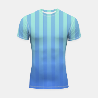 Gradient Stripes Pattern tb Shortsleeve rashguard thumbnail image