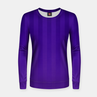 Thumbnail image of Gradient Stripes Pattern dp Women sweater, Live Heroes