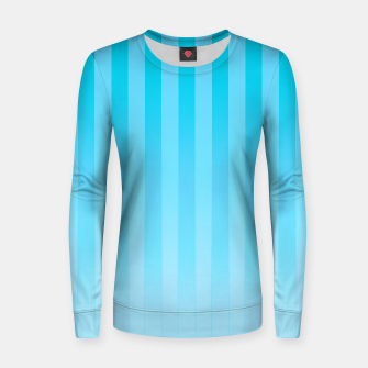 Thumbnail image of Gradient Stripes Pattern it Women sweater, Live Heroes
