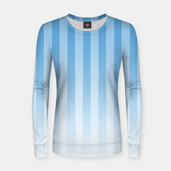 Thumbnail image of Gradient Stripes Pattern wb Women sweater, Live Heroes