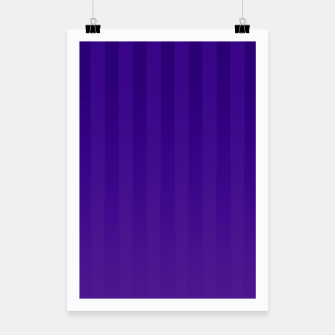 Thumbnail image of Gradient Stripes Pattern dp Poster, Live Heroes