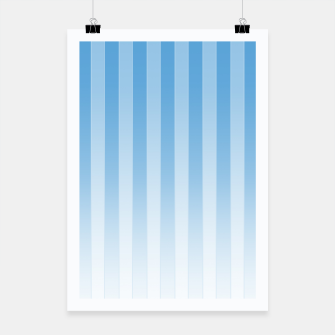 Thumbnail image of Gradient Stripes Pattern wb Poster, Live Heroes