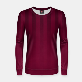 Thumbnail image of Gradient Stripes Pattern dpr Women sweater, Live Heroes