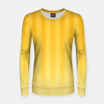 Thumbnail image of Gradient Stripes Pattern iy Women sweater, Live Heroes