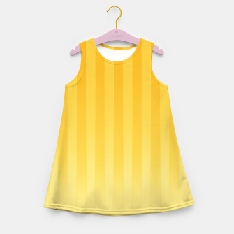 Thumbnail image of Gradient Stripes Pattern iy Girl's summer dress, Live Heroes