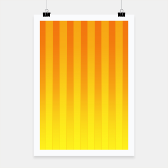 Thumbnail image of Gradient Stripes Pattern yo Poster, Live Heroes