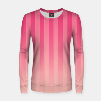 Thumbnail image of Gradient Stripes Pattern mag Women sweater, Live Heroes