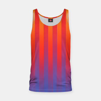 Thumbnail image of Gradient Stripes Pattern yrb Tank Top, Live Heroes