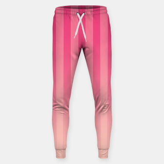 Thumbnail image of Gradient Stripes Pattern mag Sweatpants, Live Heroes