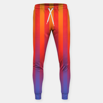 Thumbnail image of Gradient Stripes Pattern yrb Sweatpants, Live Heroes