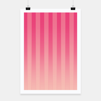 Thumbnail image of Gradient Stripes Pattern mag Poster, Live Heroes