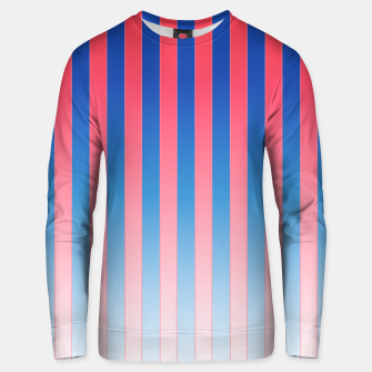 Thumbnail image of Gradient Stripes Pattern std Unisex sweater, Live Heroes