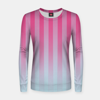 Thumbnail image of Gradient Stripes Pattern mt Women sweater, Live Heroes