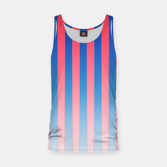 Thumbnail image of Gradient Stripes Pattern std Tank Top, Live Heroes