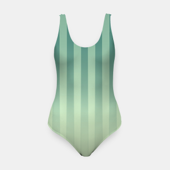 Thumbnail image of Gradient Stripes Pattern gl Swimsuit, Live Heroes
