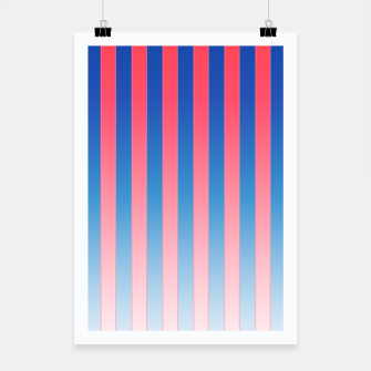 Thumbnail image of Gradient Stripes Pattern std Poster, Live Heroes