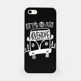 Miniatur Let's Go an Adventure iPhone Case, Live Heroes