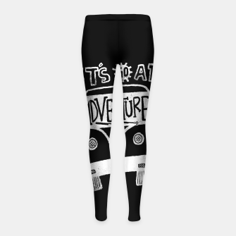 Miniatur Let's Go an Adventure Girl's leggings, Live Heroes