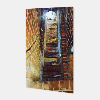 Thumbnail image of stairs Canvas, Live Heroes