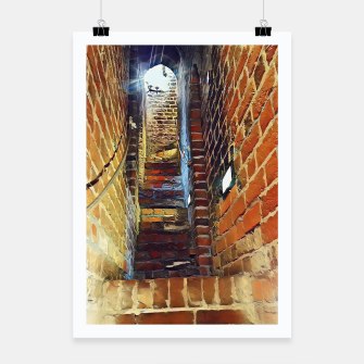 Thumbnail image of stairs Plakat, Live Heroes