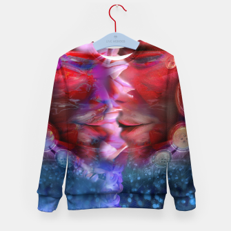Thumbnail image of UYS Unbutton Your Soul Kid's sweater, Live Heroes