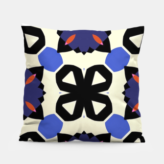 Thumbnail image of Sahara Street Checkers Pillow, Live Heroes