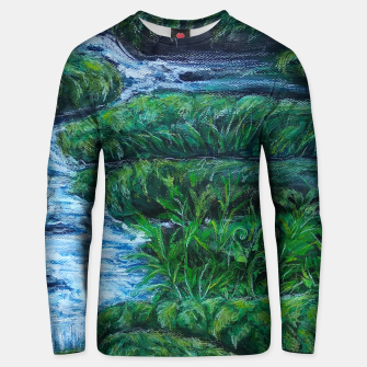 Thumbnail image of Moss and River Unisex sweater, Live Heroes
