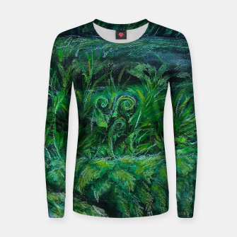 Thumbnail image of Moss and River Women sweater, Live Heroes