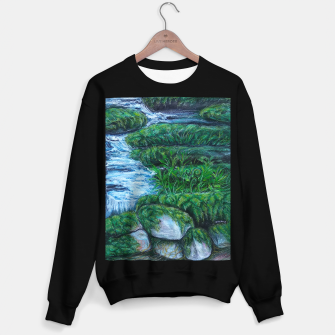Thumbnail image of Moss and River Sweater regular, Live Heroes