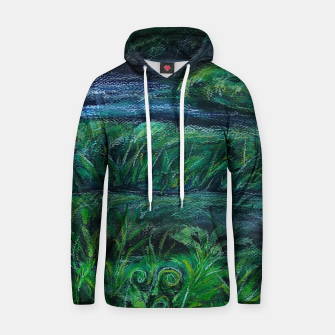 Thumbnail image of Moss and River Hoodie, Live Heroes
