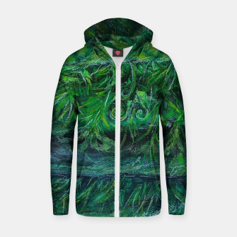 Thumbnail image of Moss and River Zip up hoodie, Live Heroes