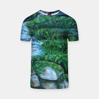 Thumbnail image of Moss and River T-shirt, Live Heroes