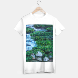 Thumbnail image of Moss and River T-shirt regular, Live Heroes