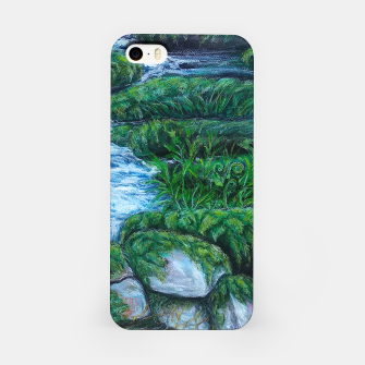 Thumbnail image of Moss and River iPhone Case, Live Heroes