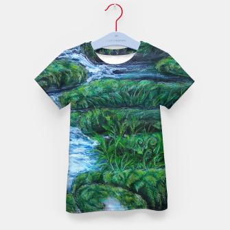 Thumbnail image of Moss and River Kid's t-shirt, Live Heroes